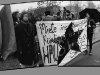 Squatters\' demonstration, Berlin, 1990